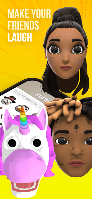SUPERMOJI - the Emoji App Capture d'écran