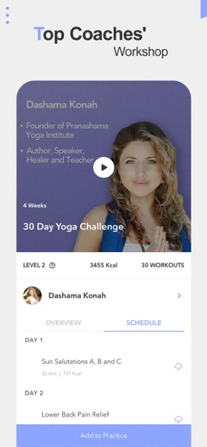 Daily Yoga - Workout & Fitness Screenshot