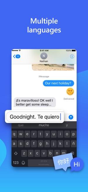 Microsoft SwiftKey Keyboard Screenshot