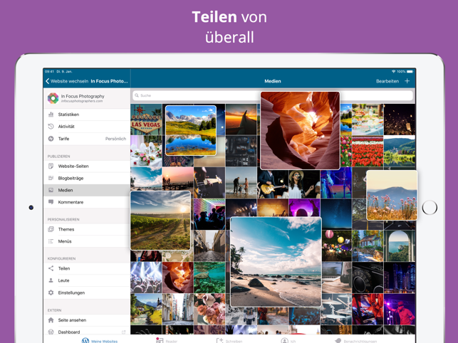 ?WordPress Screenshot