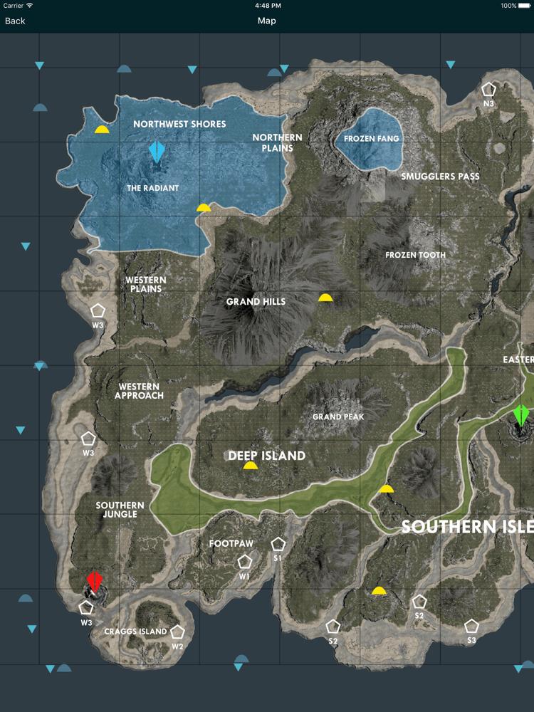 Resource Map Aberration : resource, aberration, 最も欲しかった], Labeled, Survival, Evolved, Island, ただのゲームの写真