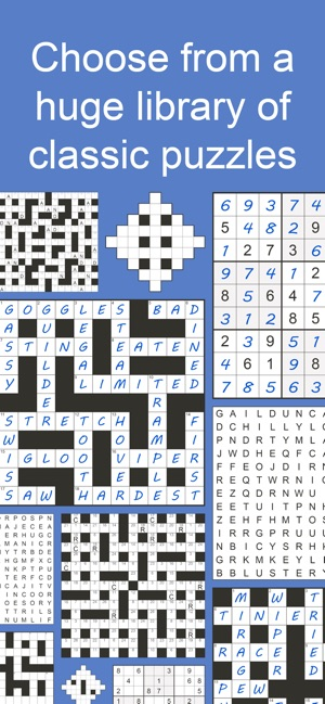 puzzle page on the