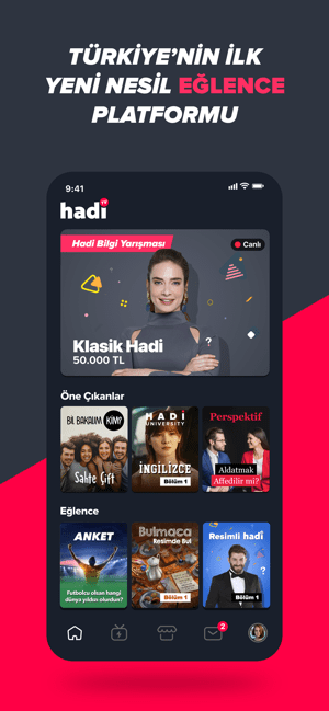 ‎hadi - interaktif videolar Screenshot