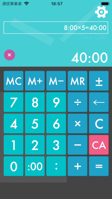 「Time:Calc+」 - iPhoneアプリ   APPLION