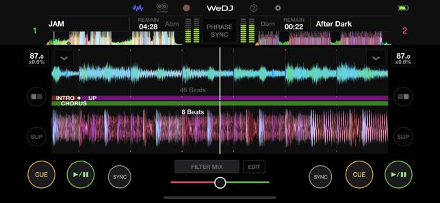 WeDJ for iPhone Screenshot
