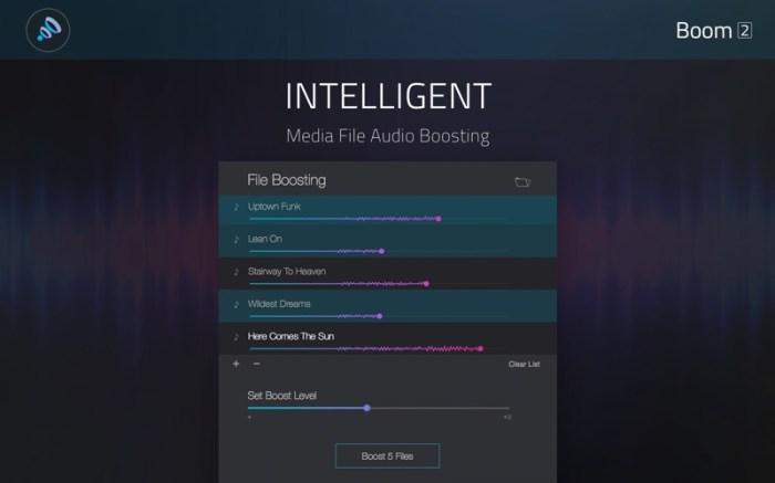 Boom2:Volume Boost & Equalizer Screenshot 03 tawfshy