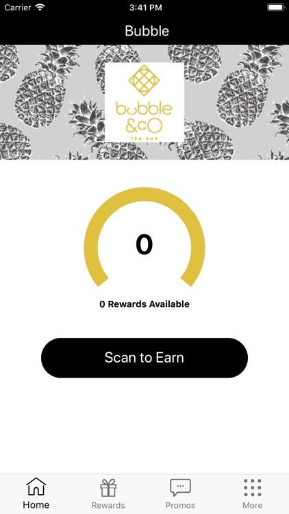 bubble and co rewards