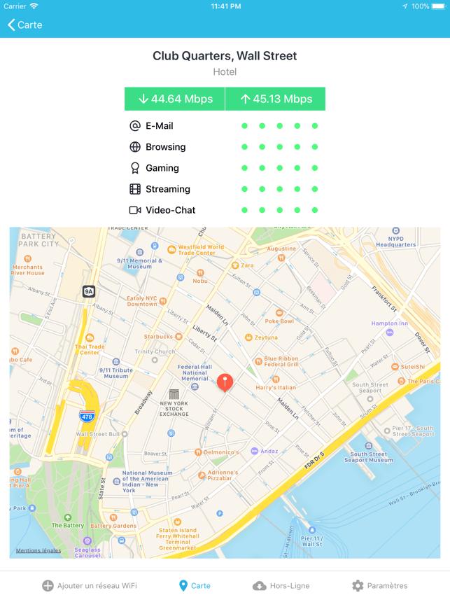 WiFi Finder Capture d'écran