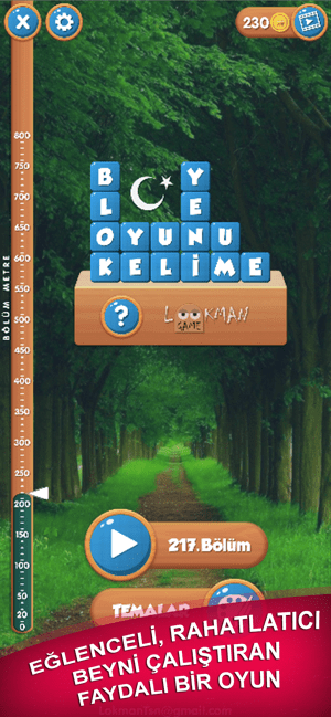 Blok Kelime Oyunu Screenshot