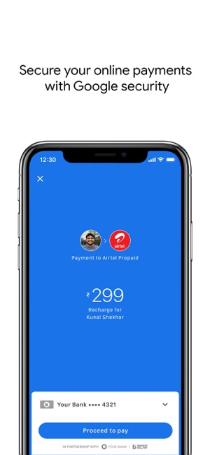Google Pay for India (Tez) Screenshot