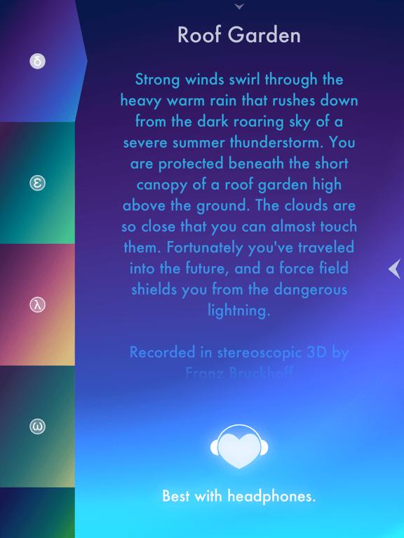 Thunderspace Un paesaggio sonoro stereoscopico