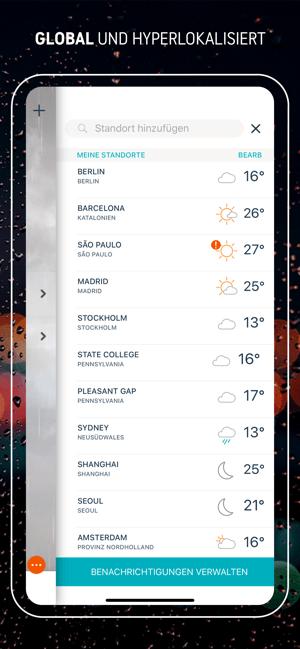 AccuWeather: Wetter Tracker Screenshot