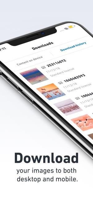 Shutterstock - Stock Photos Screenshot