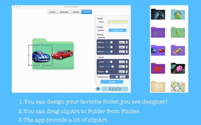 Colorful Folders Screenshot 02 12v3t5n