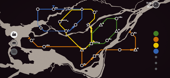 ‎Mini Metro Screenshot