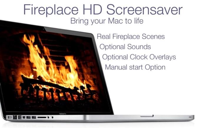 Fireplace Live HD+ Screensaver Screenshot 02 9wgrr6n