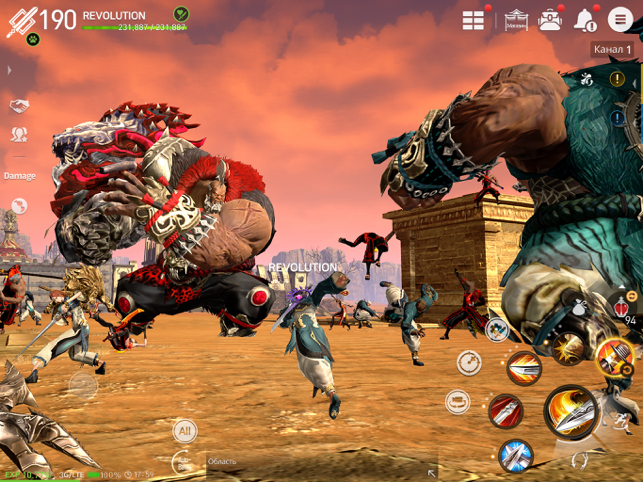 ‎Blade&Soul: Revolution Screenshot