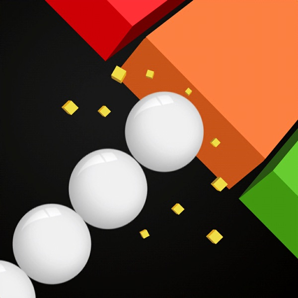Balls Snake-Hit Up Number Cube