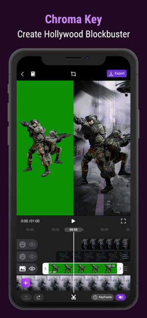 Motion Ninja Video Editor Screenshot