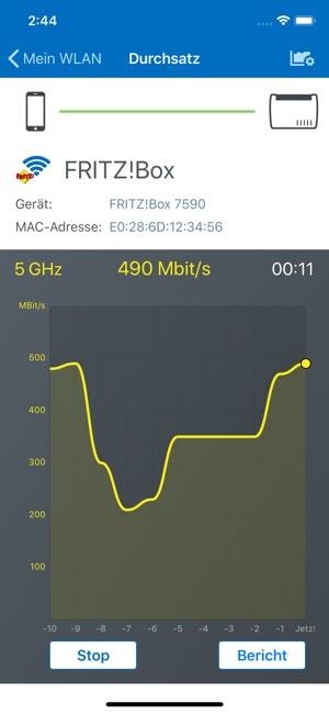 FRITZ!App WLAN Screenshot