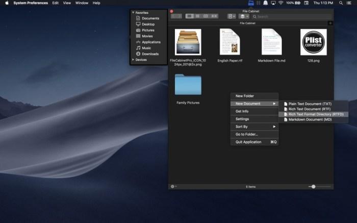 File Cabinet Pro Screenshot 03 cf188mn