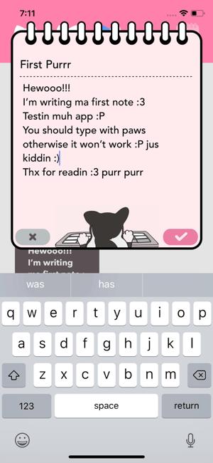 Purrpad Screenshot