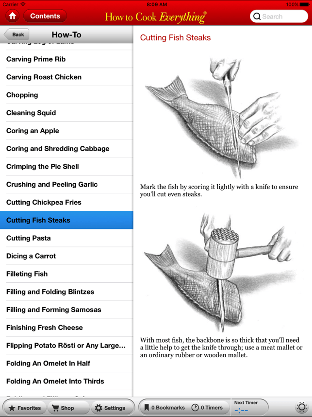 How to Cook Everything Screenshot