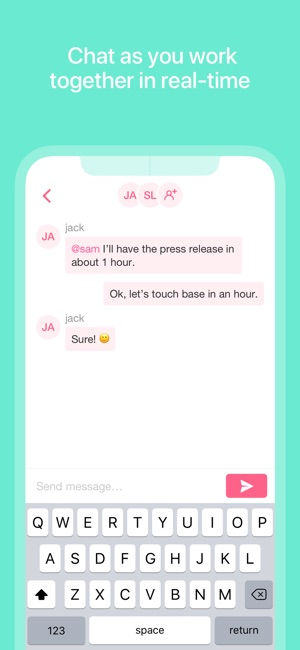 Taskade - Lists, Notes, Chat Screenshot