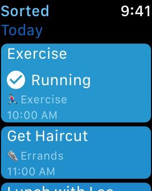Sorted: Domina tu día Screenshot