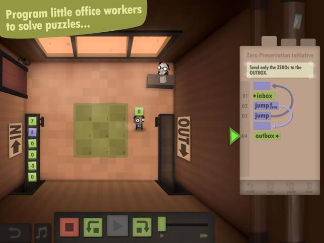 Human Resource Machine Screenshot