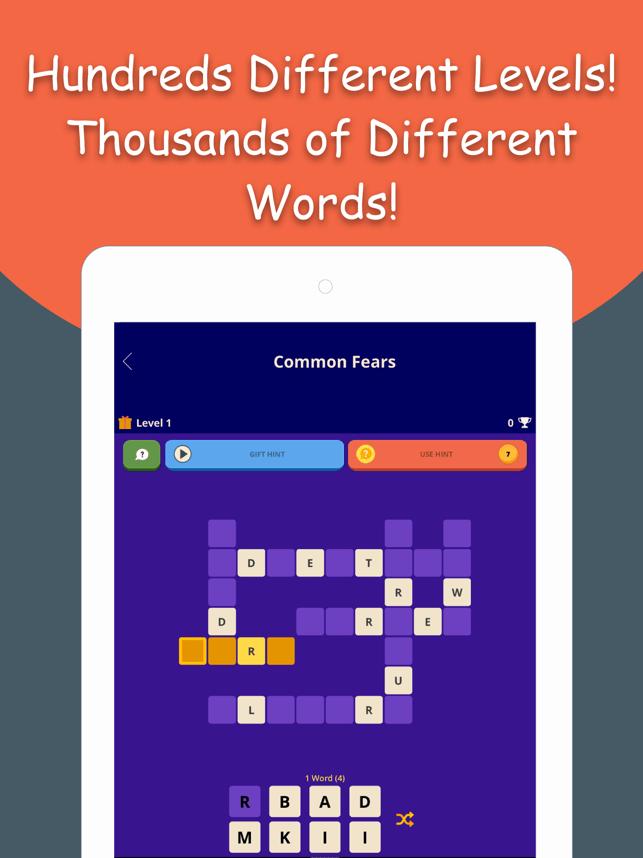 Wordivity - Fun Crossword Game Screenshot