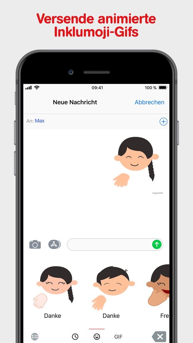 Inklumojis der Aktion Mensch Screenshot