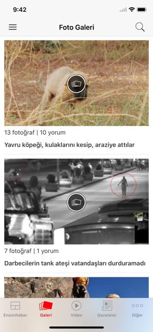 Ensonhaber Screenshot
