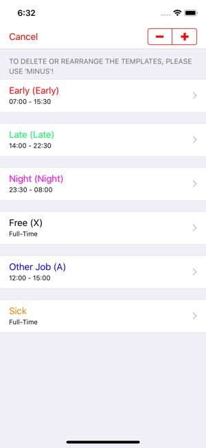 ‎Roster-Calendar on the App Store