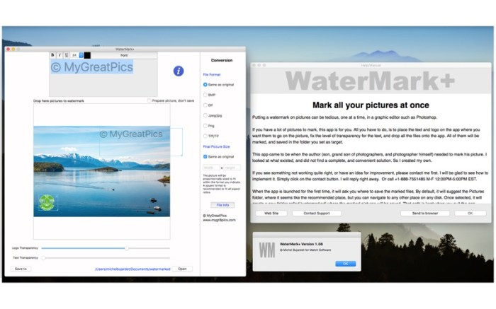WaterMark+ Screenshot 02 9nluqkn