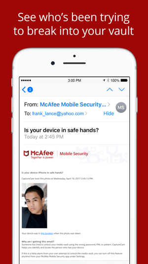 Mcafee Mobile Security Your Device Locked