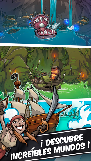 Clicker Pirates - Tap para luchar Screenshot