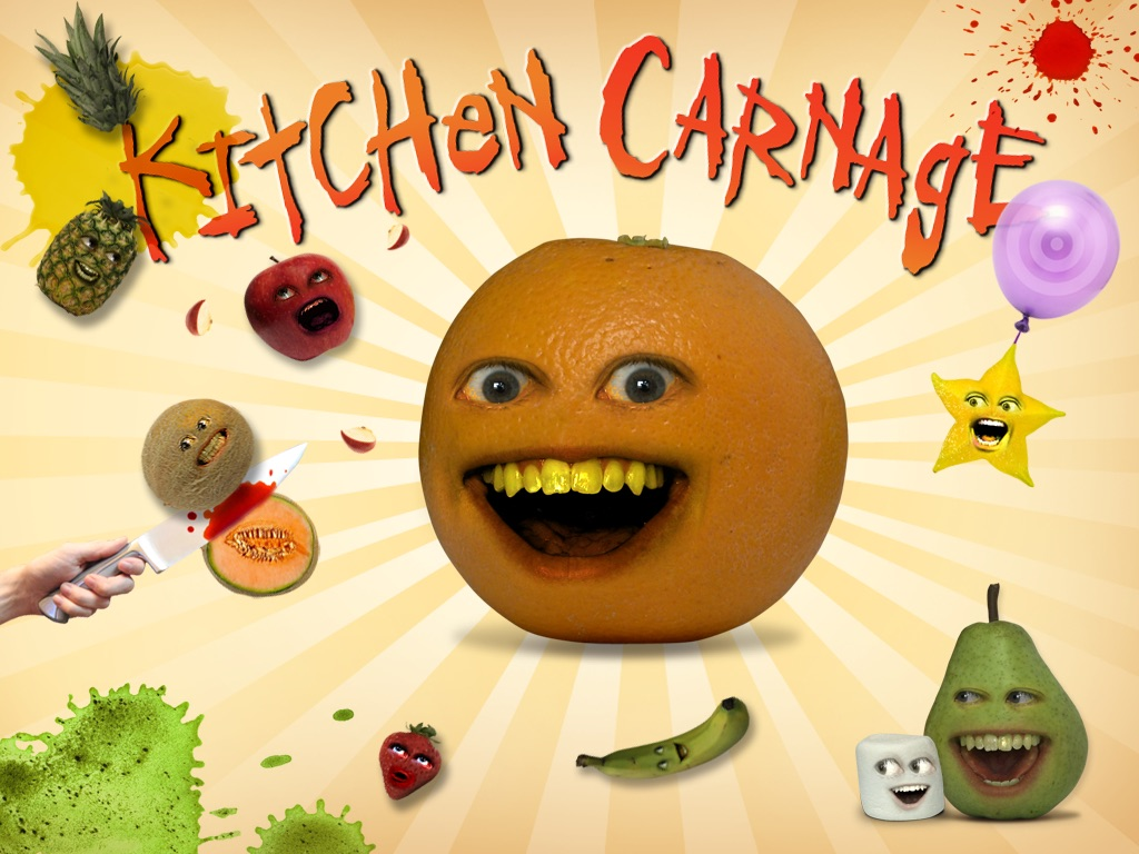 Annoying Orange Kitchen Carnage HD ASO Report and App