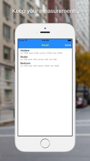 dB meter - misura del rumore Screenshot