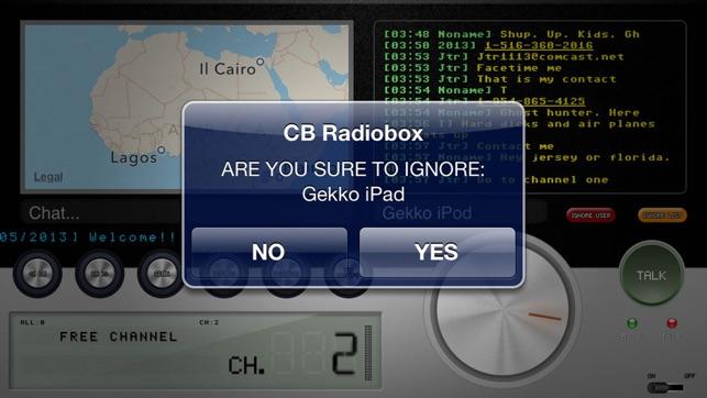 cb radio box light
