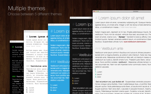 Writed - Distraction-free text editor Screenshot