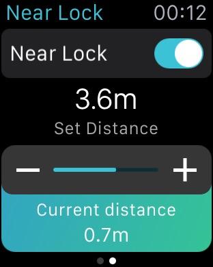 Near Lock - Sperren & Entsperren Sie Ihren Mac Screenshot
