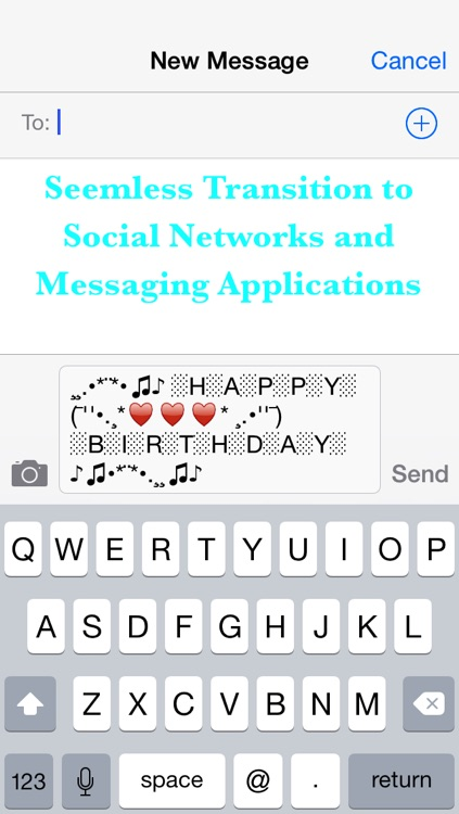 Cool Text Message Art : message, Style, Messages, Status, Updates, Click!, Awesome, Apps,