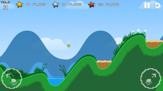 Flappy Golf Screenshot