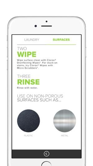 Clorox® myStain™ on the App Store