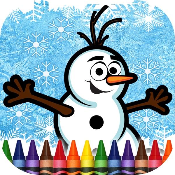 Coloring Book Frozen