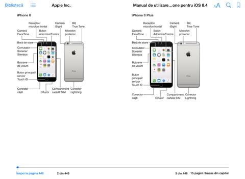 Manual de utilizare iPhone pentru iOS 8.4 by Apple Inc. on