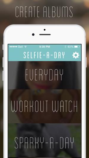 Selfie A Day - Everyday Photo Screenshot