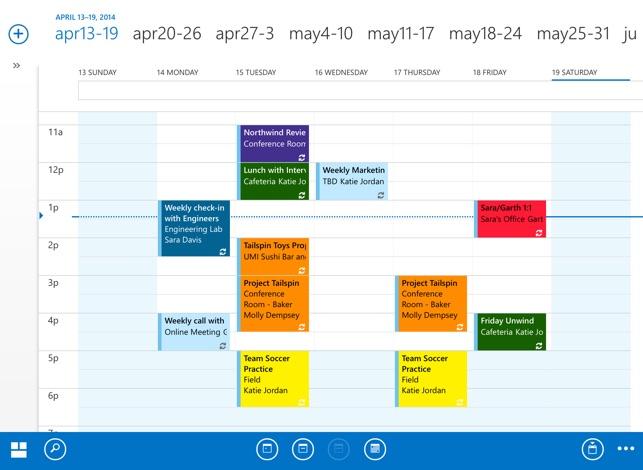 OWA for iPad Screenshot