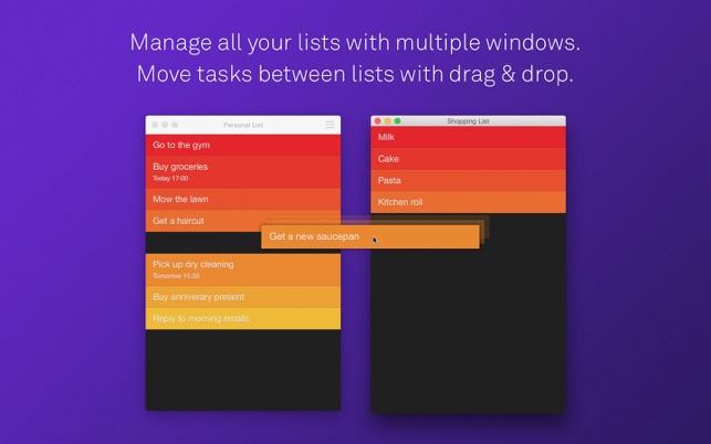 Clear - Aufgaben & Erledigungslisten Screenshot